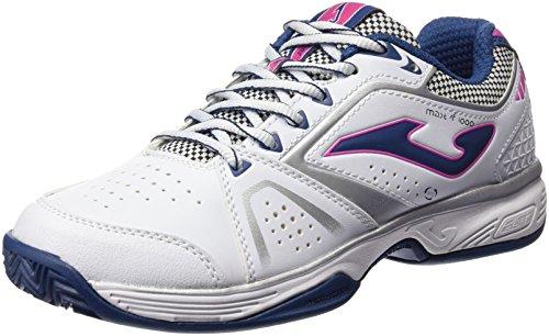 Joma T.Master 1000 Lady 602 Blanco-Marino, Zapatillas de Tenis para Mujer BLANCO