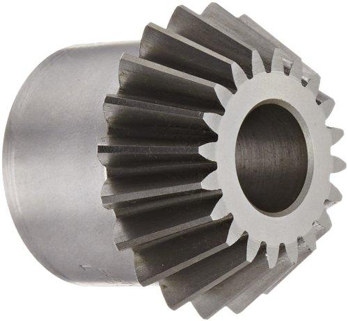 Boston Gear L155Y-P Bevel Pinion Gear, 2:1 Ratio, 0.750' Bore, 10 Pitch, 20 Teeth, 20 Degree Pressure Angle, Straight Bevel, Steel 0.750 Bore L155YP