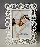 Art Street Decoralicious White Designer Circular Motif Photo Frame