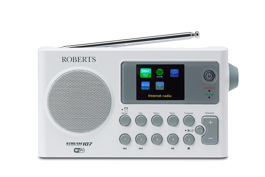 Roberts Radio Portable DAB/DAB+/FM/Wi-Fi Internet Radio with Media ...