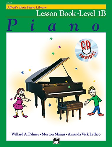 - Alfred's Basic Piano Library Lesson Book, Bk 1B: Book & CD