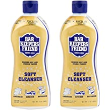 Bar Keepers Friend Soft Cleanser Premixed Formula | 13-Ounces | (2-Pack)