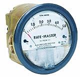 Dwyer Rate-Master Series RMV Dial-Type Flowmeter, 0-20 GPM Water, 1/2'' Female NPT