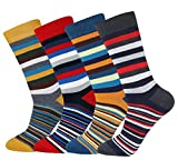 Mens Novelty Casual Cozy Cotton Crew Socks Size 7~13