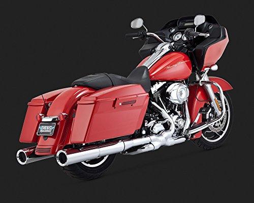 (Vance & Hines 06-16 Harley FLHX2 Hi-Output Slip-On Exhaust (Chrome))