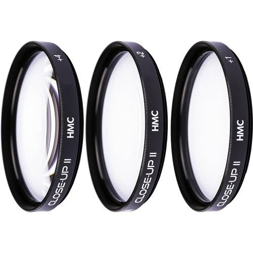 Hoya 52mm HMC Close-Up Filter Set II, Includes +1, +2 and +4 Diopter Filters