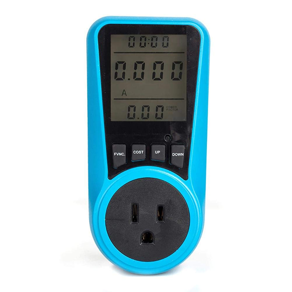 Niome Power Consumption Meter Energy Calculator Usage Monitor Plug in Amps Electricity
