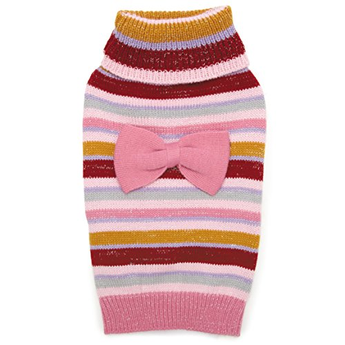 Zack & Zoey Elements Striped Bow Sweater, ()