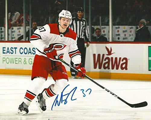 (Signed Warren Foegele Photo - 8X10 COA A - Autographed NHL Photos)