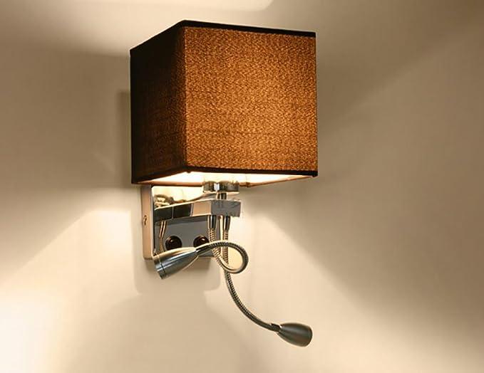 Lampada a muro applique led soggiorno lampada da parete corridoio