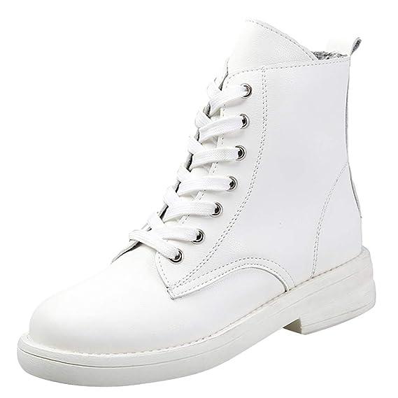 Luckycat Zapatos Mujer Botas de Nieve Invierno Botas Altas ...