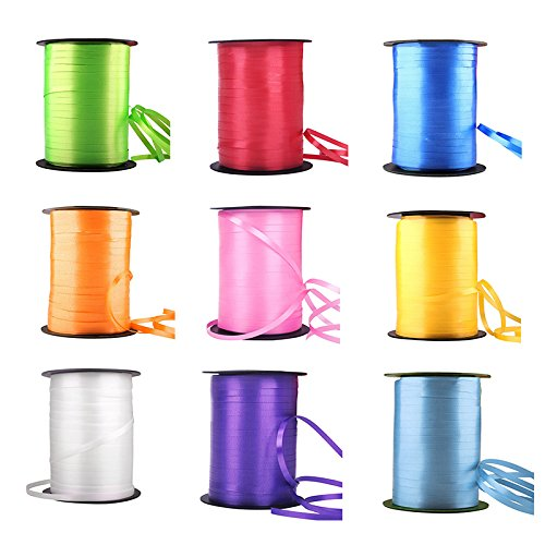 Wedding Favor Gift Wrap Balloon Curling Ribbon 220m Sweet Bags Birthday Party