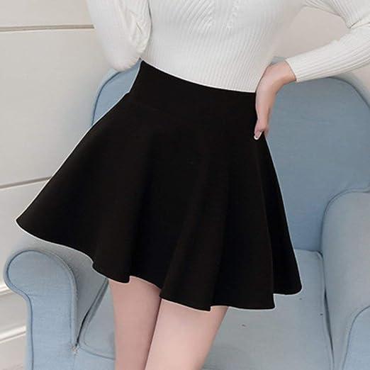 DGdolph Falda Corta de Moda para Mujer Falda Plisada de Cintura ...