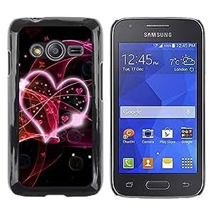 iKiki Tech / Estuche rígido - Abstract Hear Love - Samsung Galaxy Ace 4 G313 SM-G313F