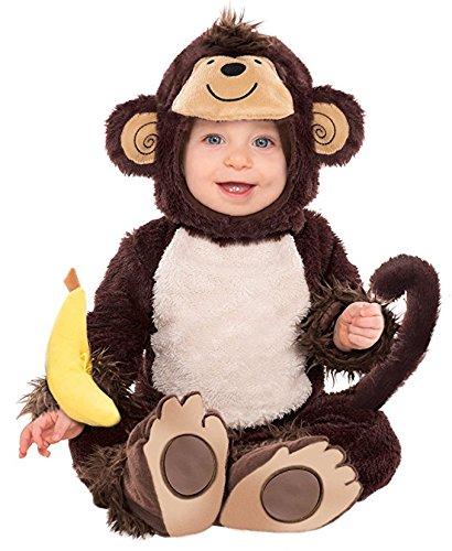 Monkey Around Costume - Newborn (Monkey Costumes For Babies Halloween)