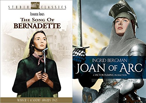 Celebration of Our Lord 2-DVD Bundle - The Song of Bernadette & Joan of Arc 2-Movie Bundle