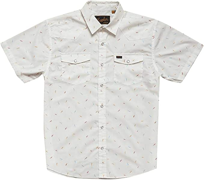 HOWLER BROS Men/'s H Bar B Snapshirt