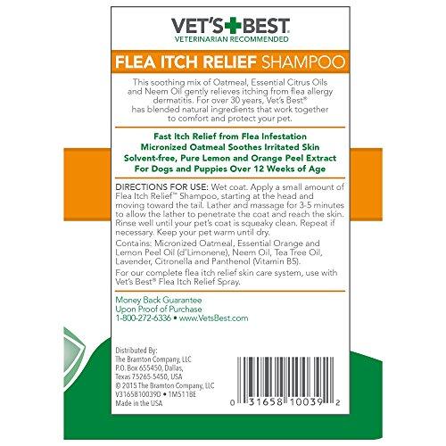 Vet S Best Flea Itch Relief Dog Shampoo