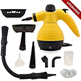 Handheld Multi Purpose Steam Cleaner Compact Design Ideal For Carpet, Floor, Vehicle, Door & Window Cleaning, Garment & Fabric Steaming, Ironing & Bed Bug Mattress Disinfection