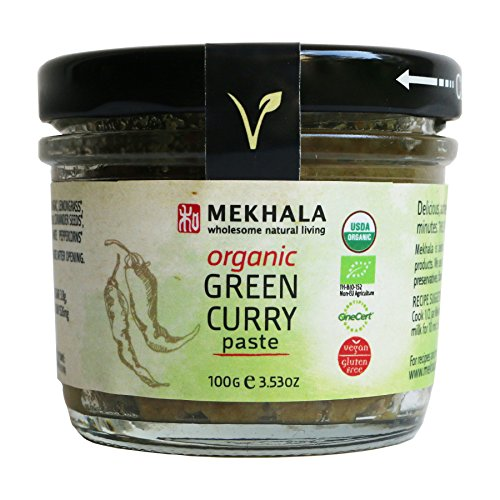 Mekhala Organic Gluten Free Thai Green Curry Paste 3.53oz