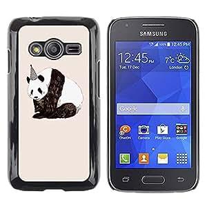 Paccase / SLIM PC / Aliminium Casa Carcasa Funda Case Cover para - Birthday Sad Nature Animals Rights - Samsung Galaxy Ace 4 G313 SM-G313F
