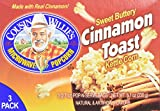 uncle willies popcorn - Cousin Willie's Microwave Popcorn Sweet Buttery Cinnamon Toast Kettle Corn 3 Bags Per Box (Pack of 3 Boxes)