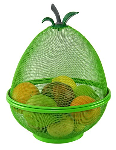 - HOME-X Pear-Shaped Fruit Basket, Fun Fruit Bowl, Decorative Kitchen Decor and Storage