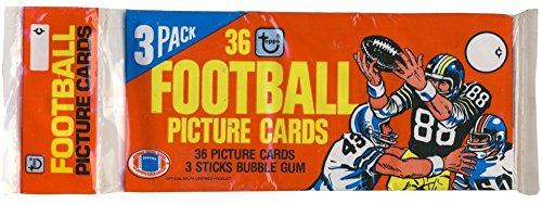 Topps Red Football (1981 Topps Football Red Top Grocery Rack Pack)