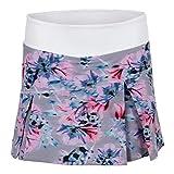 Lija Women`s Topspin Tennis Skort Xray Floral-(690309571747)