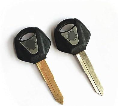 Key Blank for Yamaha YZF R1 R6 FZ1 FZ6 Black