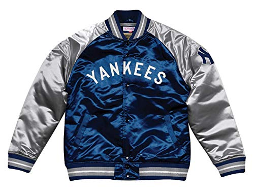0cf1912ad Mitchell   Ness New York Yankees MLB Tough Season Premium Satin Jacket