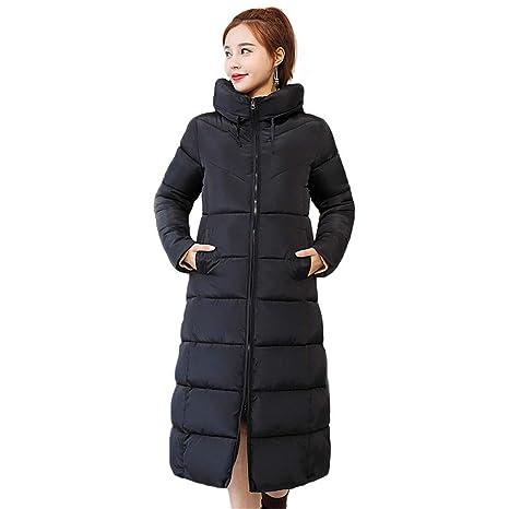 Abrigo largo de la chaqueta de las mujeres, Abrigo de Invierno para Mujer con Capucha