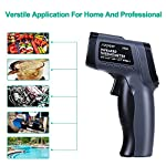 Infrared Thermometer, SURPEER IR5D Laser Thermometer Gun