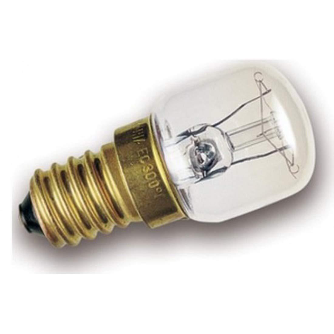 LAMPADINA PER FORNO E 14 POTENZA 25 W 1 PZ 300 ° LAMPADA UNIVERSALE CD 45820600