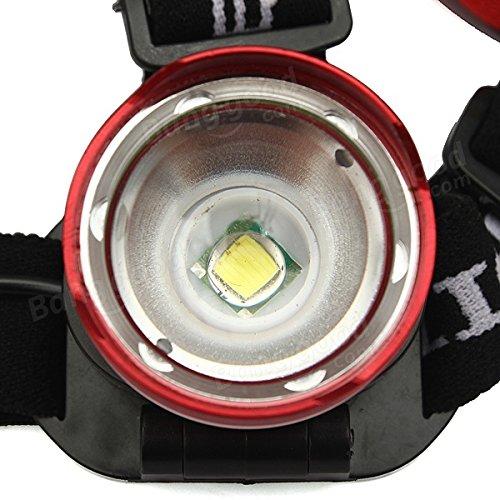 PhilMat T6 LED projecteur de phare vélo zoomable rechargeable