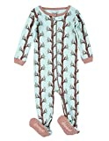 Leveret Kids Pajamas Baby Boys Girls Footed Pajamas Sleeper 100% Cotton (Owl Tree, Size 3 Toddler)