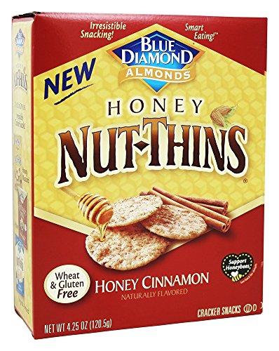Thins Almond (Blue Diamond Growers - Honey Nut Thins Honey Cinnamon - 4.25 oz (pack of 2))
