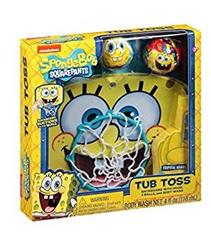 完売 Nickelodeon SpongeBob SquarePants B01K1UOY8M Tub Toss Gift Set, 4 Gift Nickelodeon pc [並行輸入品] B01K1UOY8M, ホスピマート:c29233c1 --- clubavenue.eu