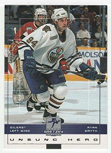 Ryan Smyth Hockey - Ryan Smyth (Hockey Card) 1999-00 Upper Deck Wayne Gretzky Hockey # 69 NM/MT