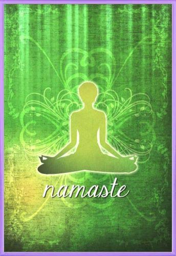 Amazon.com: 1art1 Yoga Poster and Frame (Plastic) - Namaste ...