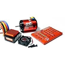 SkyRC Cheetah 4000KV 8.5T Sensored Brushless Motor and CS60 60A ESC 1/10 Combo by Cheetah