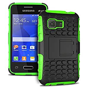 Galaxy Young 2 Case, Heavy Duty Dual Layer Protection / Shockproof / Drop Resistance Hybrid Rugged Cover Case for Samsung Galaxy Young 2 G130