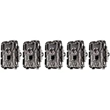 Bushnell 24MP Trophy Cam HD No Glow Trail Camera with Color Viewer - 5-Pack