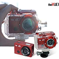 [THES] The Vue Wearable Extreme & Leisure Sports Wi-Fi Action Cam / Including 16GB SD Card / Waterproof / Smart Remote Control