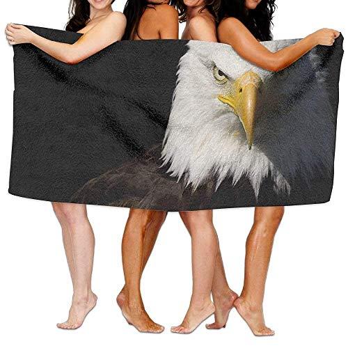I Like Exercise Bath Towels, Eagle Super Soft Ultra Absorbent Bath Towel for Men Women Kids, Bathroom (Eagles Paper Clip Holder)