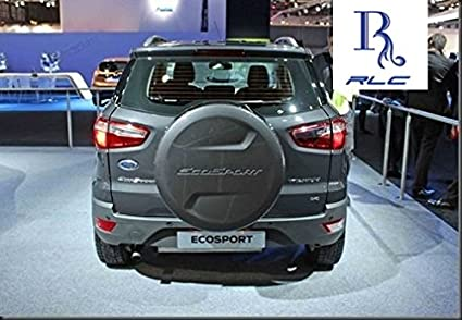 Rlc Spare Wheel Cover For Ford Ecosport Smoke Gray