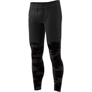 d50247afd63d adidas Supernova TKO Graphic Tights (Carbon/Black, L) at Amazon ...