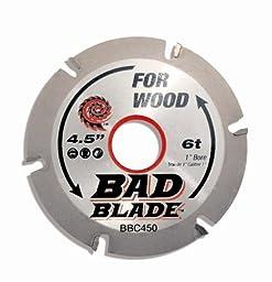 KwikTool USA BBC450 Bad Blade Carver 4-1/2\