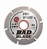 """KwikTool USA BBC450 Bad Blade Carver 4-1/2"""" 6 Tooth"""