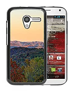 New Custom Designed Cover Case For Motorola Moto X With Mk Rainbow Fall Mountain Nature Sky Phone Case
